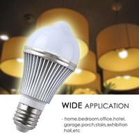 Motion Sensor Bulb, E27 5W LED Sensor Bulb Detection Auto Switch LED Light Bulbs for Outdoor Porch Hallway Attic Home Corridor?