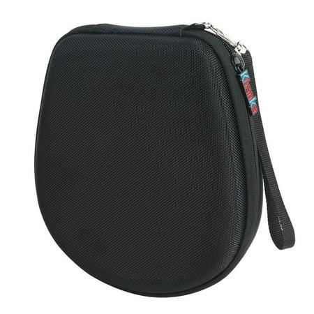 the latest 44023 1dea1 Khanka Hard Case Travel Storage Bag for Samsung Level U Pro Noise  Cancelling Bluetooth Wireless In_ear Headphones _ Black