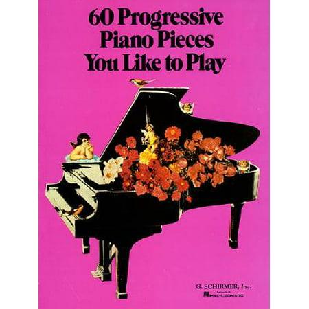 60 Progressive Piano Pieces You Like to Play (Albeniz Piano Pieces)