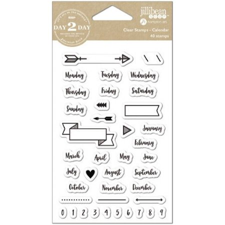 day 2 day planner clear stamps 3 5 x 6 calendar walmart com