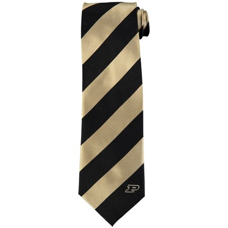 Purdue Boilermakers Regiment Woven Silk Tie - No - Eagles Wings Purdue Boilermakers Necktie