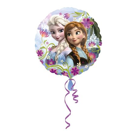 Anagram International 3019701.0 HX Frozen Anna and Elsa Packaged Party Balloons, Multicolor, 18 Inch - image 1 de 2