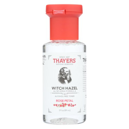Thayers Witch Hazel Alcohol (Thayers Witch Hazel - Rose Petal - Alcohol Free - Case Of 24 - 3 Fl Oz)