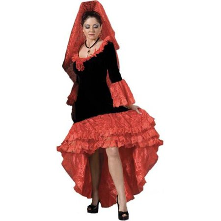 Adult Supreme Ladies Flamenco Dancer Theater Costume for $<!---->