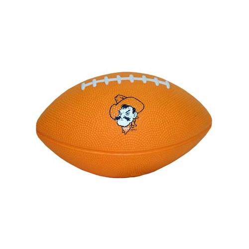 Small Carolines Treasures CJ1066-RSH4 Letter R Football Orange Multicolor Blue and White Leash or Key Holder