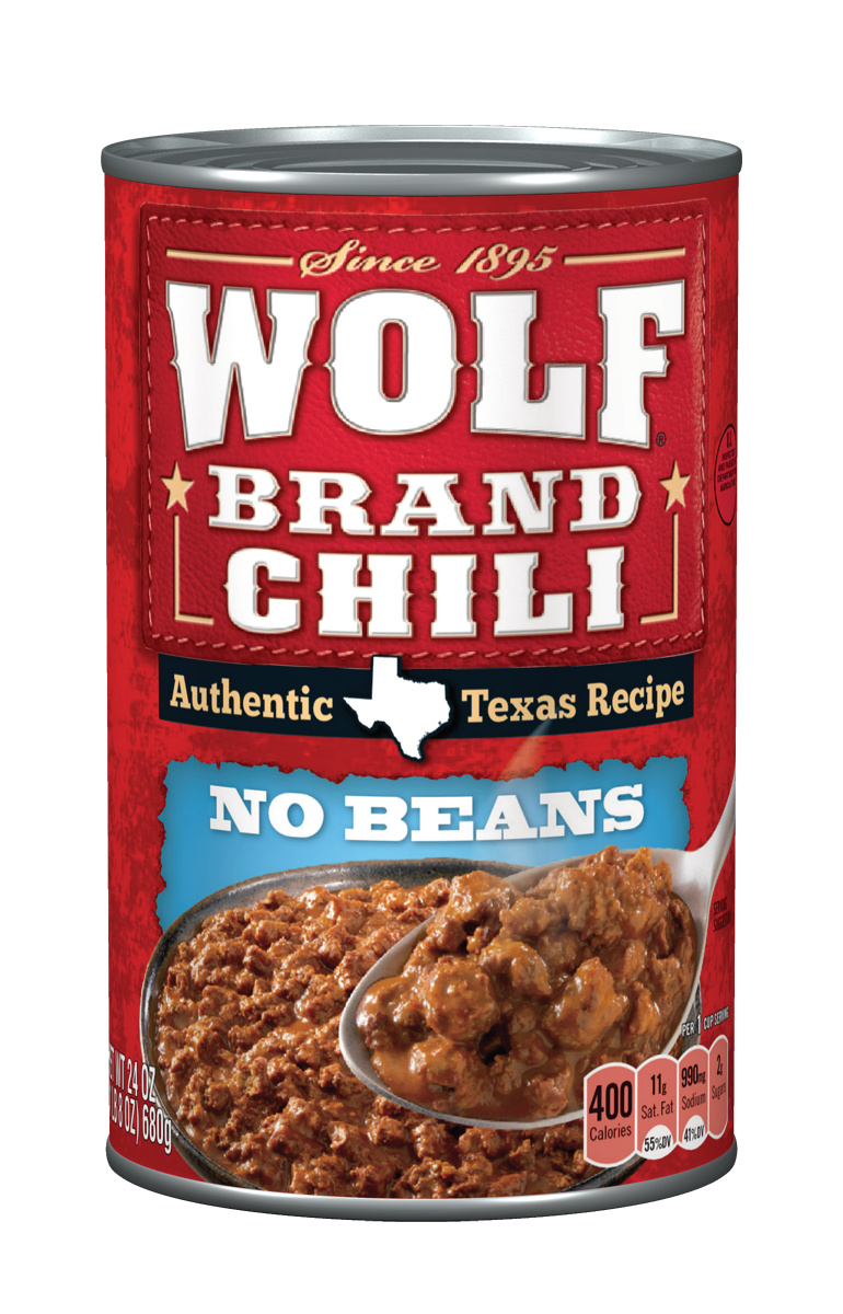 Wolf Brand Chili Without Beans, 24 Ounce