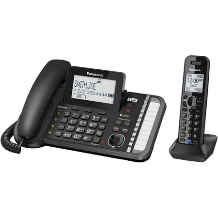Panasonic Dect 60 Two Line Telephone System With One Handset