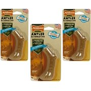 Nylabone Puppy Antler Alternative Chicken Flavored Dog Chew Toy, Petite