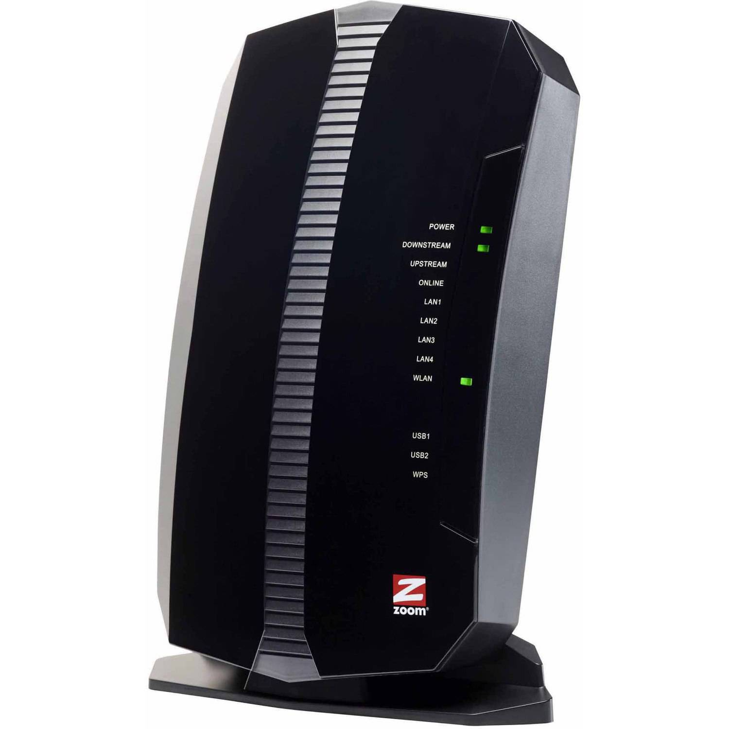 Zoom 5354 N300 Cable Modem Router with Wireless N and Gigabit Ethernet by Zoom