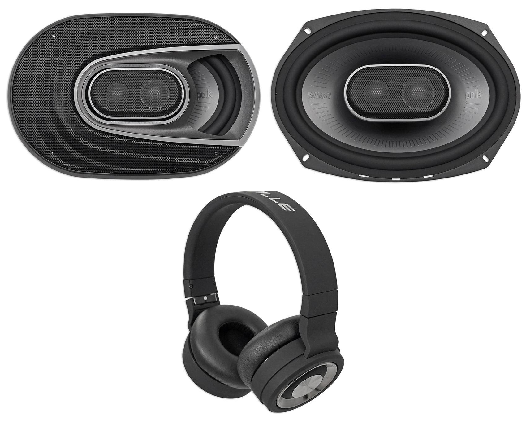 "New Polk Audio Premium MM692 450 Watts Marine Boat UTV Car 6x9/"" Speakers 6/"" x 9/"""