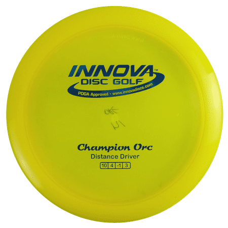Innova Champion Orc 173-175g Distance Driver Golf Disc [Colors may vary] - -