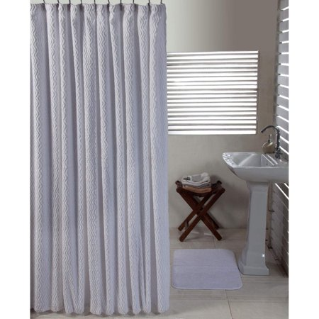 Better Trends Shower Curtain and Bathmat Set