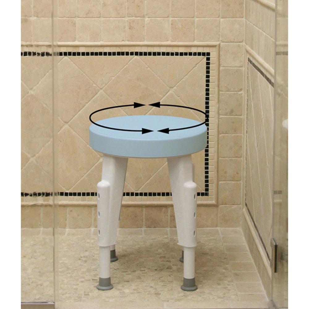 Briggs Healthcare Bath Safe Swivel Adjustable Shower Chair