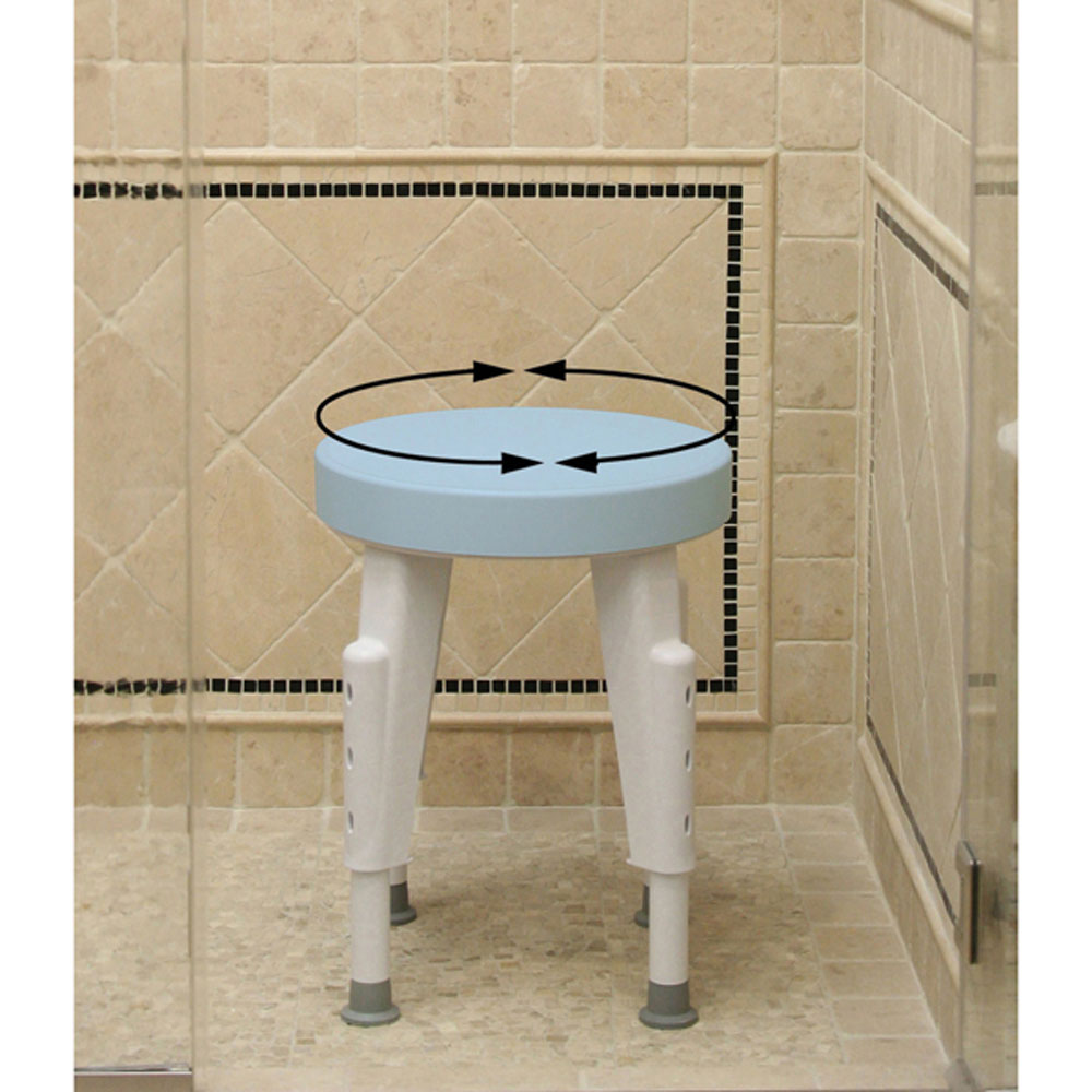 Adjustable shower transfer bench