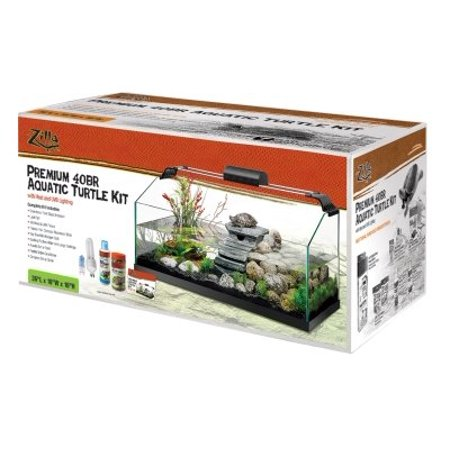 Zilla Animal Supply Company En28076 Rimless Turtle Kit, 40 Gallon Large (Pack of 1)