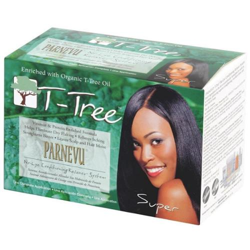 Parnevu T-Tree No-Lye Conditioning Relaxer System - Super, 1 kit (Pack of 2)