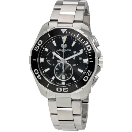Tag Heuer Aquaracer Chronograph Stainless Steel Mens Watch CAY111A.BA0927