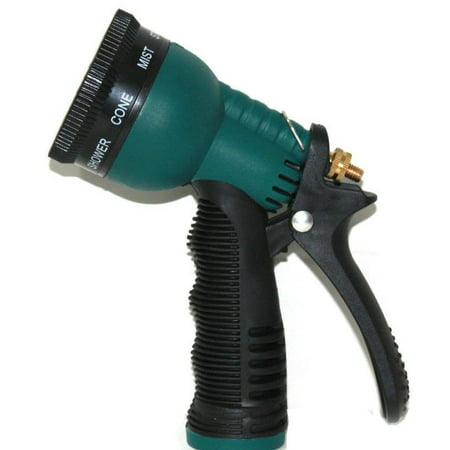 Garden Hose Nozzle Water Sprayer Sprinkler Head Insalated Nozzle 7 Spray Parrens