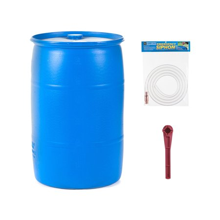 Emergency Essentials  30 Gallon Water Barrel Combo