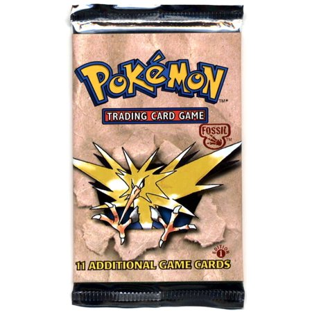 Pokemon Fossil 1st Edition Booster - Fossil Booster