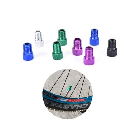 5pcs/set Bicycle Presta To Schrader Bike Pump Air Valve Converter Adapter Bicicleta Tire Tyre Inflator Tube Tool