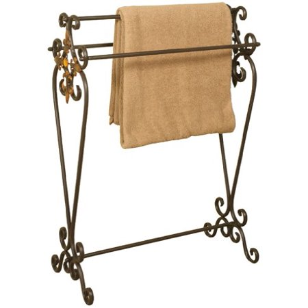 Oil Rubbed Bronze Metal Quilt Rack ()
