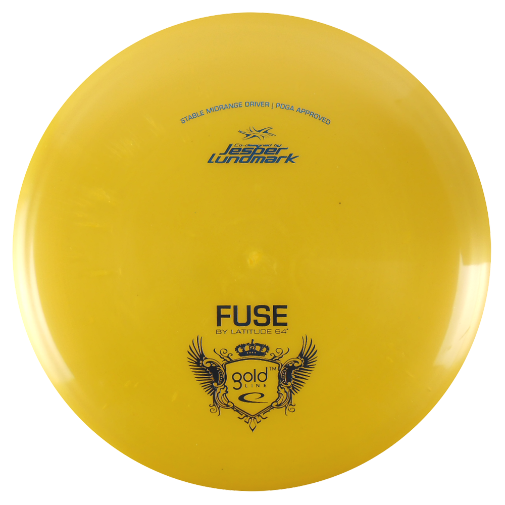 Latitude 64 Gold Fuse 177-180g Midrange Golf Disc [Colors may vary] 177-180g by