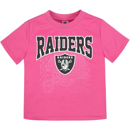 Oakland Raiders Theme (Toddler Gerber Pink Oakland Raiders)
