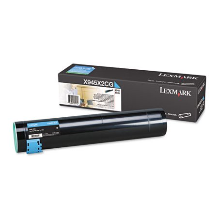 Lexmark - High Yield - cyan - original - toner cartridge - LCCP
