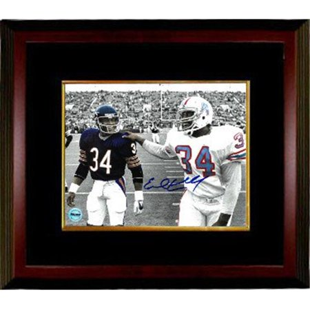 new styles 64222 d02b3 RDB Holdings & Consulting CTBL-MB20023 8 x 10 in. Earl Campbell Signed  Houston Oilers Spotlight Photo Frame with Payton, Black & Mahogany