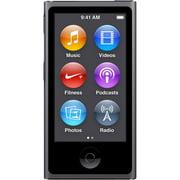 Apple iPod Nano 8th Generation (16GB) Space Gray Bundle New in Plain White Box