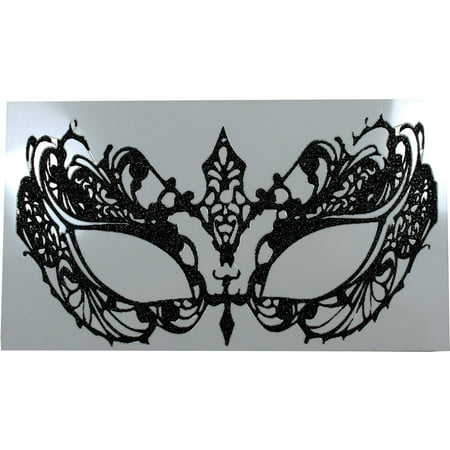 Eye Lace Decal Adult Halloween Accessory](Eyes Shot Out Halloween)