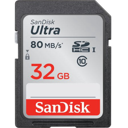 Sandisk 32 GB Ultra Class 10 UH-1 SDHC Memory