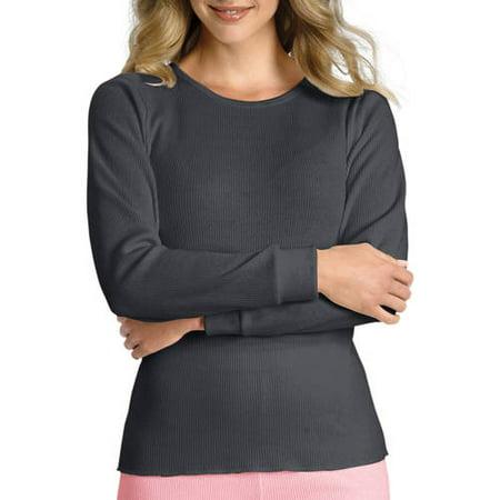 Hanes Women's X-Temp Thermal Underwear Crew Tee