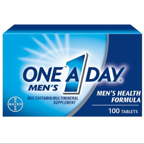 One-A-Day Men's Health Formula Tablets 100 ea (Pack of 3)