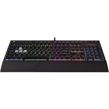 CORSAIR STRAFE RGB Mechanical Gaming Keyboard - USB Passthrough - Cherry MX Red Switch CH-9000227-NA (Certified Refurbished)