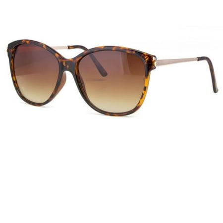Hot Designer Sunglasses - Hot Women's Classic Cat Eye Designer Fashion Shades Black Frame Sunglasses x1