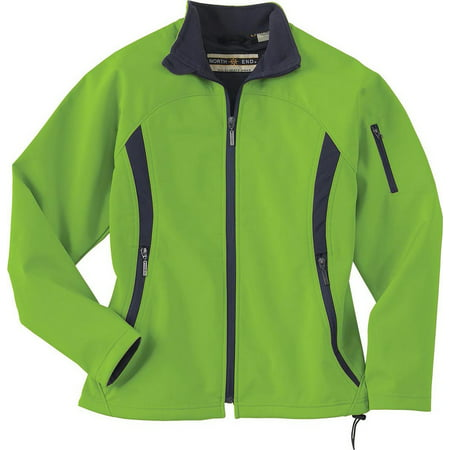 North Face Women Apex Bionic Jacket (Womens Performance Soft Shell Jacket - Tahiti Green - North End)