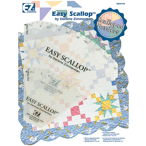 Wright's Easy Scallop Quilting Ruler Set