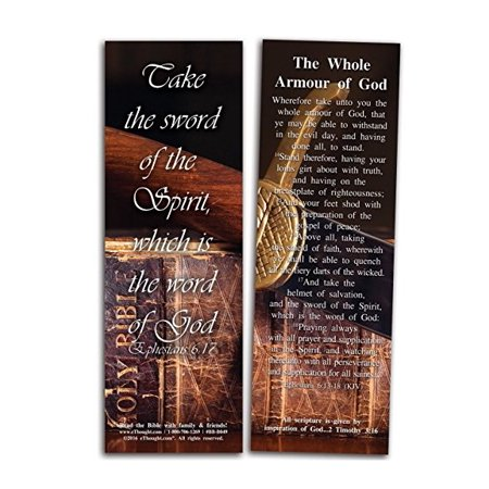The Whole Armour of God -Bible Cards - Pack of - Halloween And The Bible