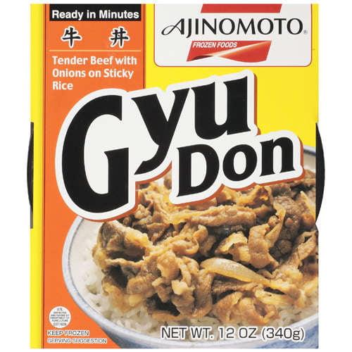 Ajinomoto: Tender Beef With Onions On Sticky Rice Gyu Don, 12 oz