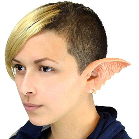 Cinema Secrets Woochie Classic Latex Ears - Professional Quality Halloween Costume Makeup - Gremlin