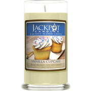 Vanilla Cupcake Candle with Ring Inside (Surprise Jewelry Valued at $15 to $5,000) Ring Size 6