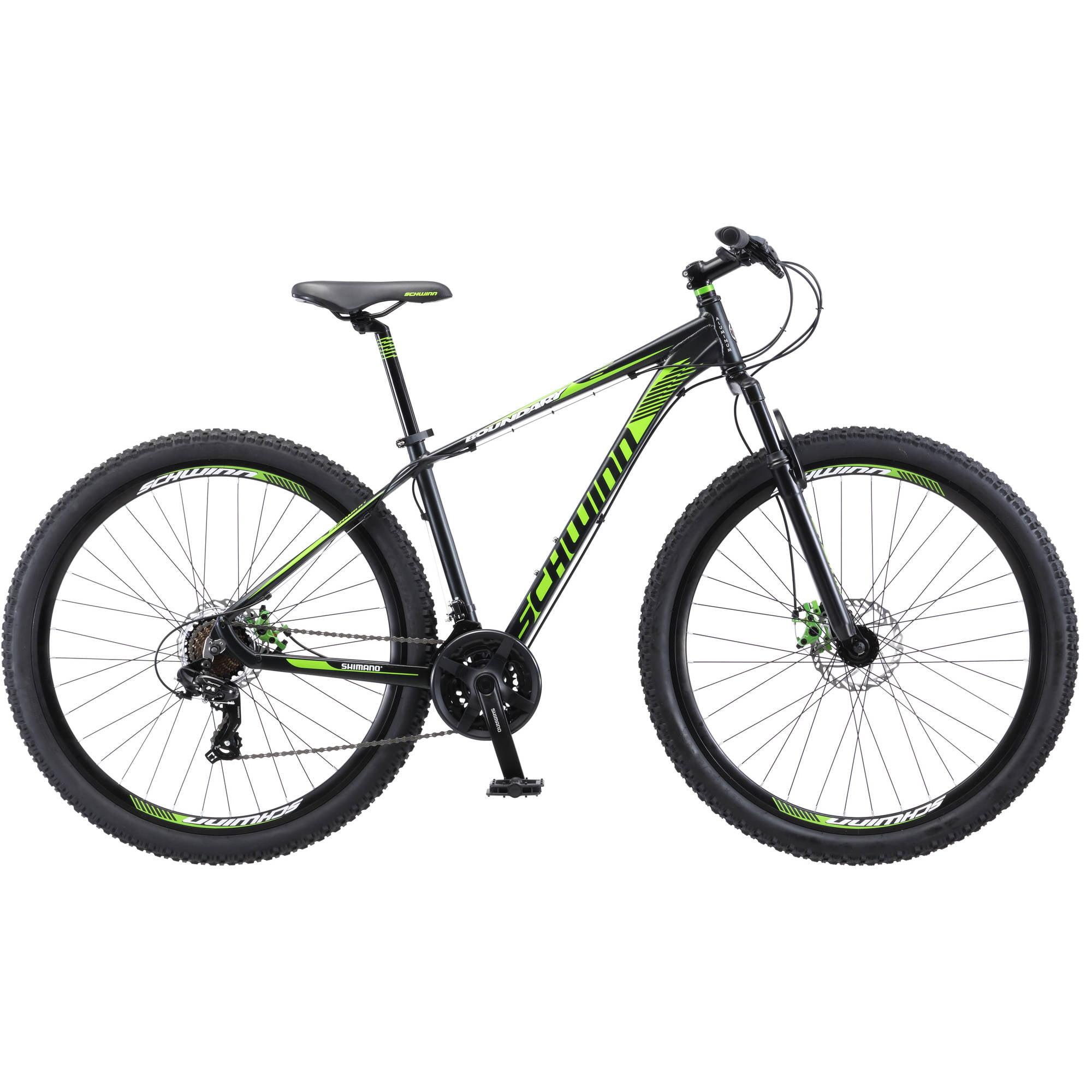 "29"" Men's Schwinn Boundary Mountain Bike, Dark Green and ..."