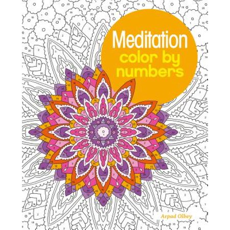 Meditation Color by Numbers](Easy Color By Number)