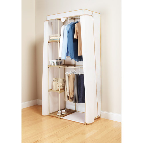 Mainstays 2-Tier Hanging Wardrobe