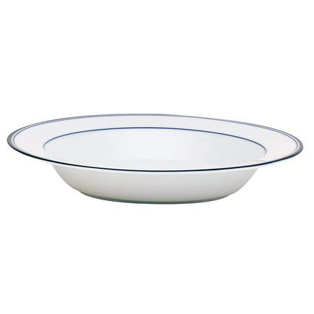 Concerto Allegro Soup Bowl, Blue, Crafted of porcelain By Dansk Dansk Round Bowls
