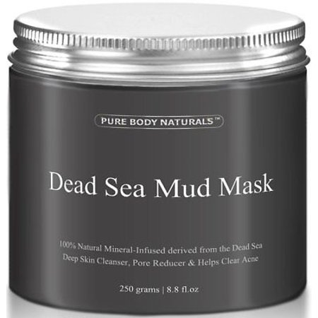 Pure Body Naturals Dead Sea Mud Mask, 250g/ 8.8 fl. oz ()