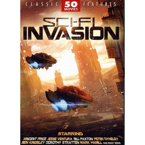Sci-Fi Invasion: 50 Movie Set