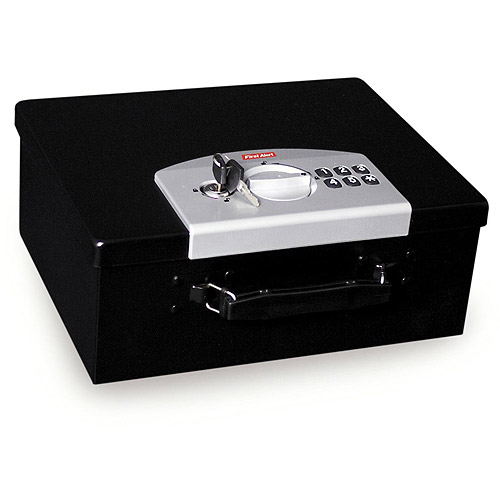 First Alert 3035DF .27-Cubic Foot Digital Locking Steel Box